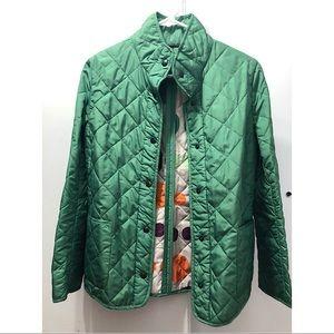 Jackets & Blazers - Green quilted blazer
